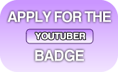 Apply for 'YouTuber' badge!